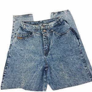 Vintage PS Gitano Acid Washed High Waisted Jeans